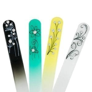 Pen Drawing Nail Files Close-up
